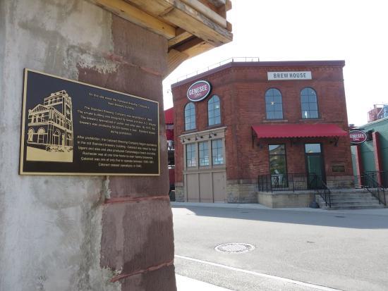 Genesee Brew House: Brewhouse