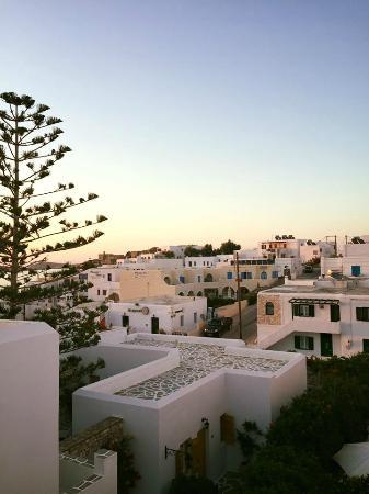 Alea Apartments: la magnifica vista dalla nostra camera