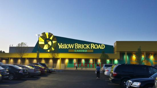 Casino yellow brick road