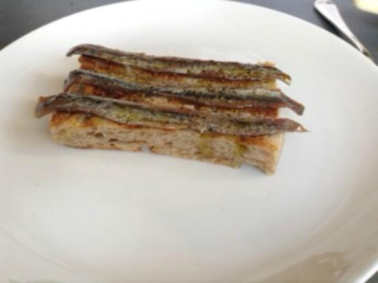 Anchovies on toast - Picture of Kitty Fisher's, London - TripAdvisor