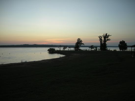 Lake Thunderbird State Park: Nice beach, really sandy