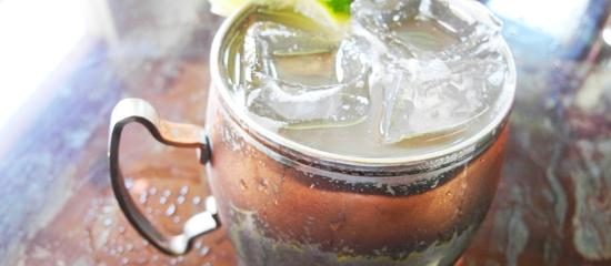 The Patio On Goldfinch Moscow Mule With House Brewed Ginger Beer