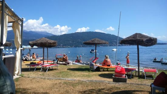 Lido Beach Club Baveno Lake
