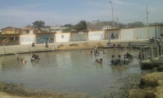 La piscina de lodo picture of banos de san vicente - Piscina san vicente ...