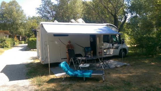 International Camping Ispra: Nice camping by the lake
