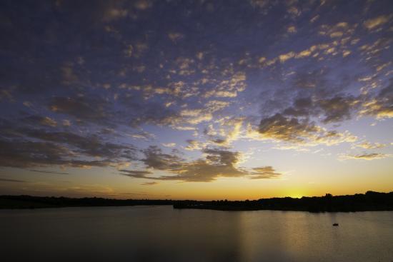 Zorinsky Lake and Recreation Area: Zorinski Lake Sunset 2015