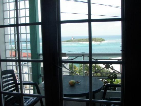 Residence Turquoise: vue de la chambre
