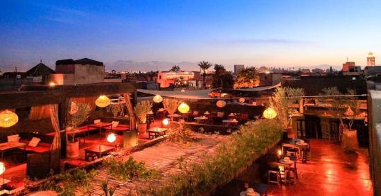 La terrasse des epices marrakech restaurant reviews for Photo de terrasse