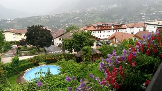 Hotel Garni Lichtenau: Vista dalla stanza