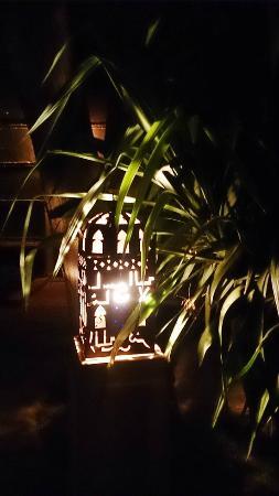 Beautiful Lanterns Lighting The Paths