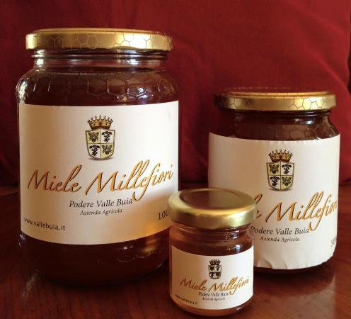 B&B Arena di Lucca: Rosemary honey from Valle Buia makes the breakfast at B&B Arena so sweet!