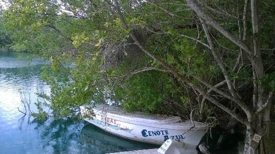 Restaurante Cenote Azul: cenote