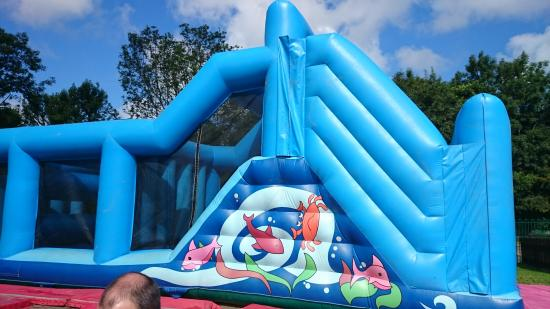 bouncy castle picture of quay west holiday park haven. Black Bedroom Furniture Sets. Home Design Ideas