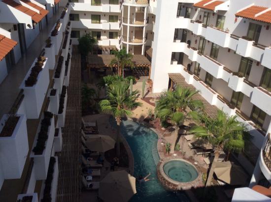 Hotel Santa Fe: Vista desde el 4to piso