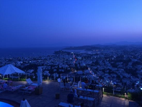 The Marmara Tuti Restaurant: View from restaurant