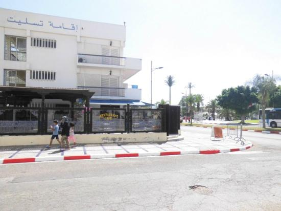 Residence Tislit : Vu sur la place Al Amal
