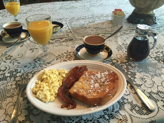Arcadia Academy: French Toast, Eggs, and Bacon for Breakfast