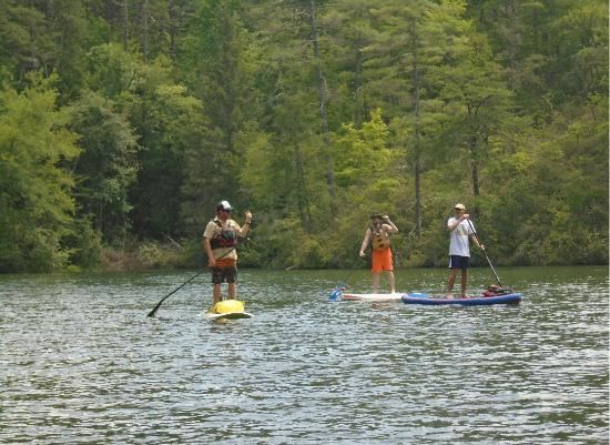 Southern Water Trails: Linc (at left) is a great instructor