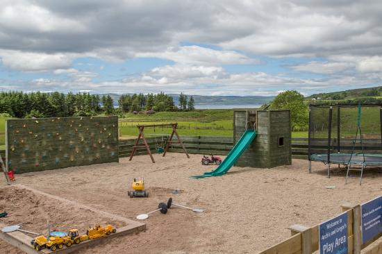 Cafe Thyme: Play area at Old Byre Visitor Centre
