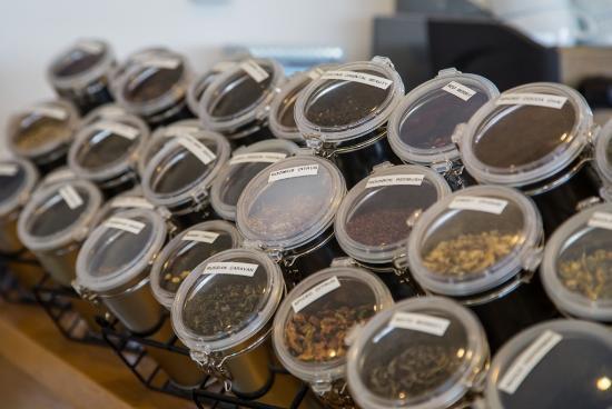 Cafe Thyme: Loose leaf teas