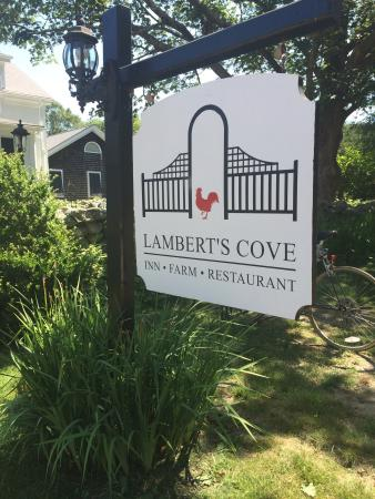 Lambert's Cove Inn: Hidden gem of a B&B... Great location for exploring the vineyard