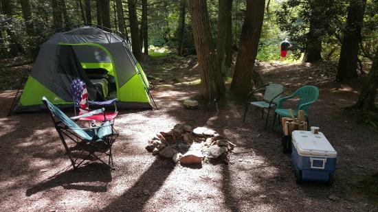 RoundStone Camping Resort: TENT SITE #1!