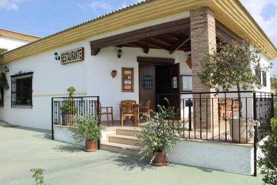 Cortijo de Tajar Restaurante: Entrada Restaurante Cortijo de Tajar
