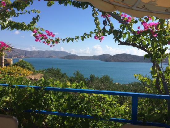 Elounda Heights: View from the pool
