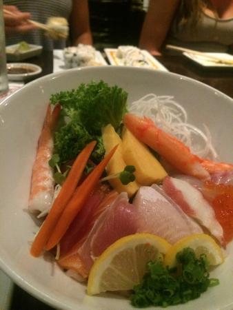 Kabuki Anese Restaurant Chirashi Bowl