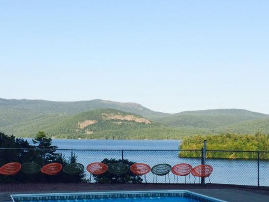 Contessa Lake George Motel & Resort: View from pool area 1