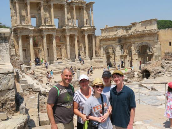 Sign for brothel - Picture of Ephesus Shuttle Day Tours ...