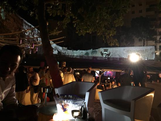 Pacha Mallorca: View from VIP terrace