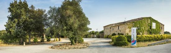 Llagostera, Španielsko: Exterior del restaurante