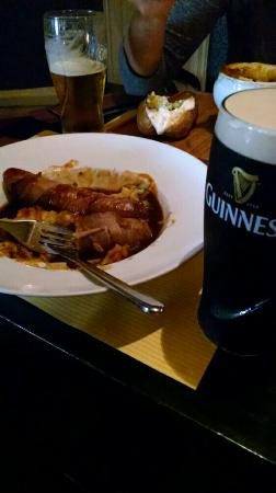 Patrick Foley's Irish Pub & Restaurant: BANGERS AND MASH! OMG!