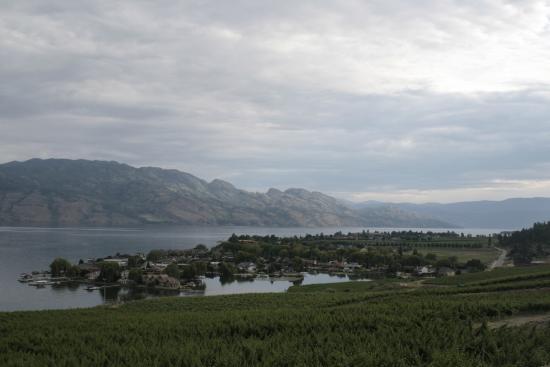 West Kelowna, Kanada: Lake Okanagan and wineyards