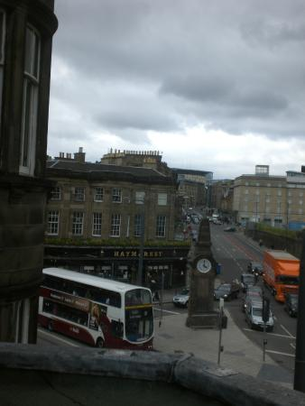 The Guards Hotel: view from third floor room