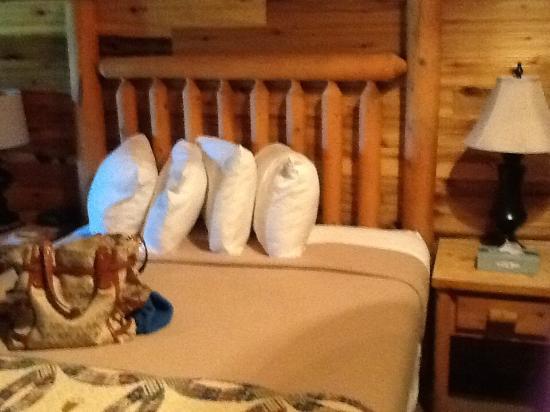 Cliffview Resort: Comfortable beds