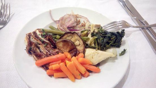 Hyencos Hotel Callyon: Una bella cena