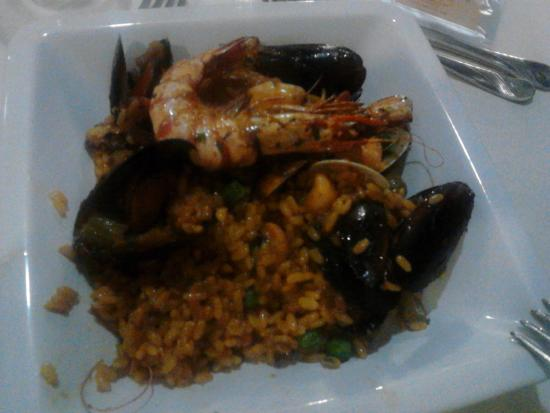 Hotel el Patio: Paella Galiziana
