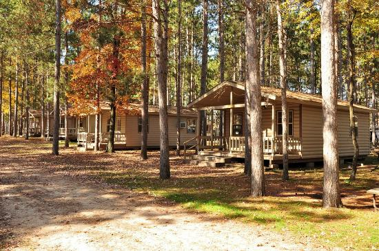 Yukon Trails RV & Camping Resort : Cabins