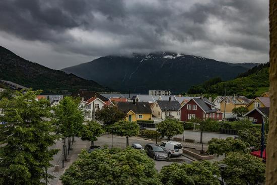 Best Western Laegreid Hotell: View from Best Western in Sogndal