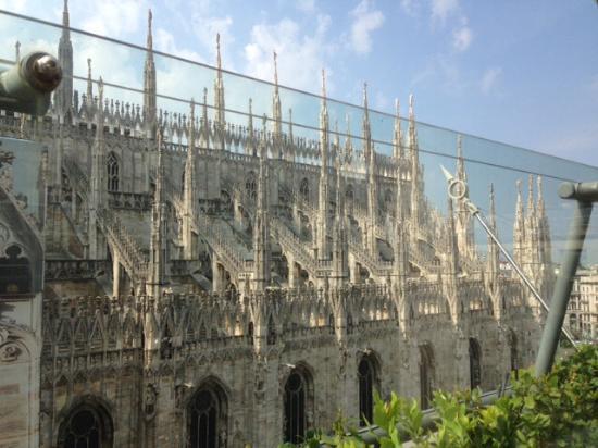 Vista Dalla Terrazza Sul Duomo Foto Di Obicà Mozzarella
