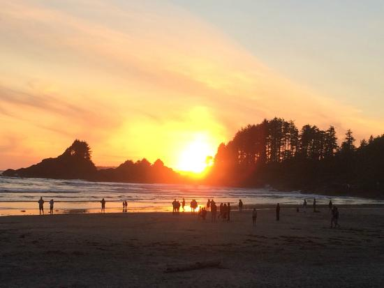 Long Beach Lodge Resort - Beach at sunset