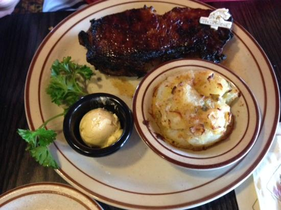 New York Strip With House Potatoes Picture Of The