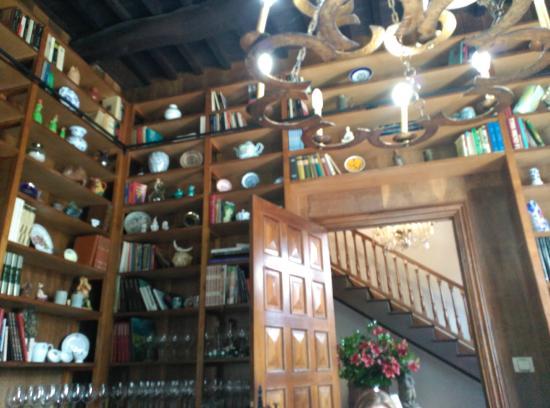 "Restaurante Roberto: Salón ""La biblioteca"""