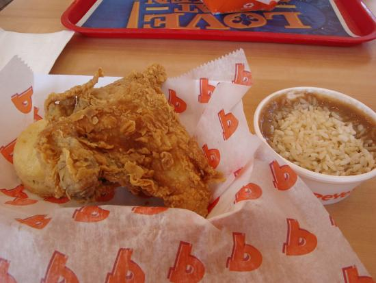 Inside Dining Newly Remodeled Dining Room - Picture of Popeyes Louisiana Kitchen ...