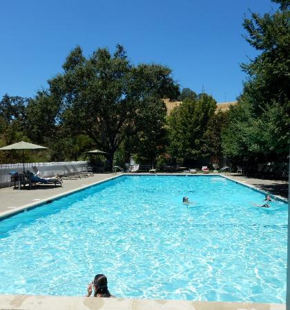 Ukiah, Kaliforniya: the ever sparkling pool