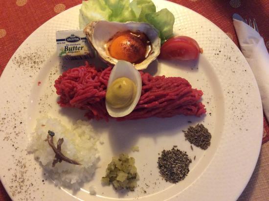 Lichtenfels, Alemanha: Steak Tartare