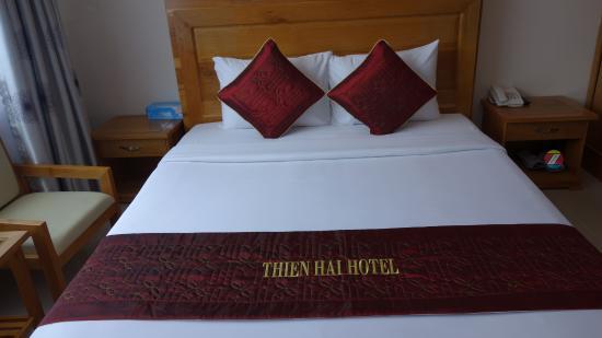 Thien Hai Hotel: La chambre 301.