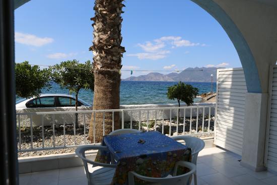 Καλλονή, Ελλάδα: La terrasse